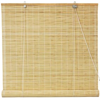 Bamboo Natural Roll-up Window Blinds (48in. x 72 in.) (China)