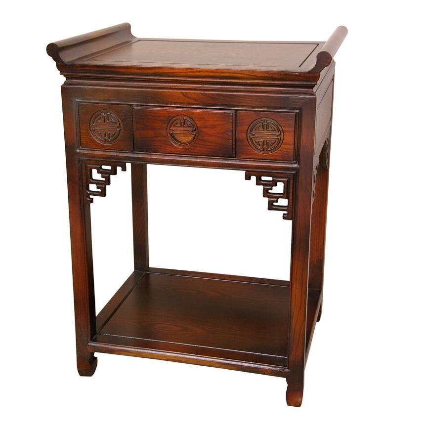 Rosewood 32 inch Walnut Altar Table China 13439018  : Rosewood 32 inch Walnut Altar Table China L13439018 from www.overstock.com size 870 x 870 jpeg 41kB
