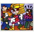 Britto 'Kids'Licensed Reproduction Print Art