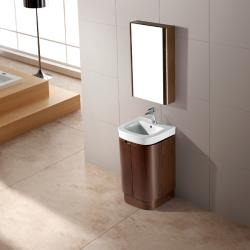 Vigo Freestanding Calantha Vanity with Sink and Mirror