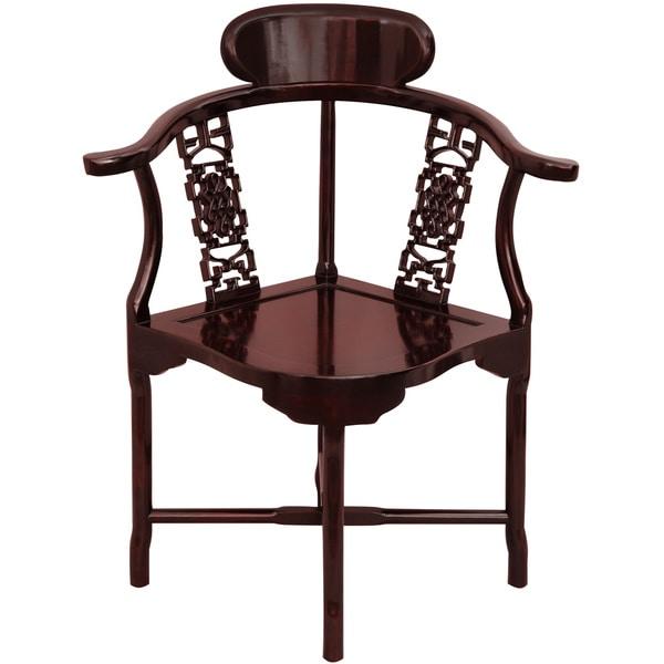 Rosewood Corner Chair (China)