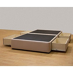 Tiffany 4-drawer King Platform Bed/ Storage Mattress Box
