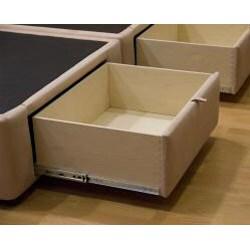 Tiffany 4-drawer California King Bed/ Storage Mattress Box