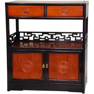 Rosewood Two-tone Long Life Display Cabinet (China)