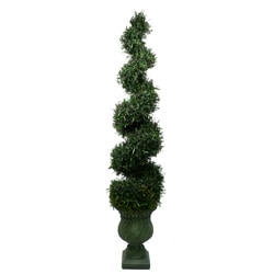 Laura Ashley 7-foot Spiral Topiary