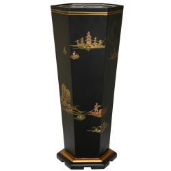 Black Landscape Umbrella Stand (China)