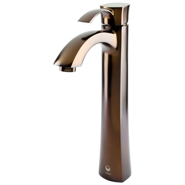 VIGO Otis Oil Rubbed Bronze Finish Vessel Faucet