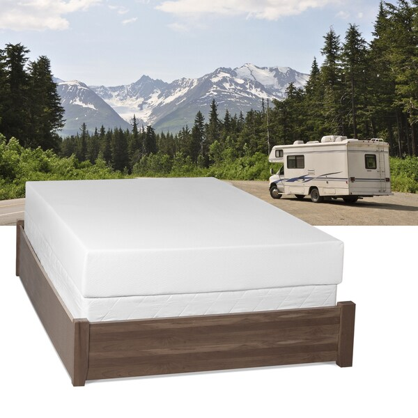 Select Luxury Home RV 8-inch Queen Short-size Memory Foam Mattress
