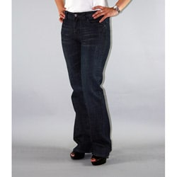 Institute Liberal Women's Slub Stretch Twill Bootcut Jeans