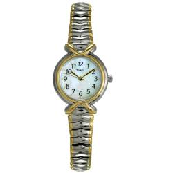 Timex Women's Stainless Steel Two-tone Watch