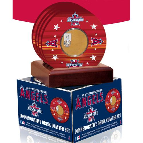 Steiner Sports 2010 All-Star Game Coasters w/ Game Field Dirt (Set of 4)