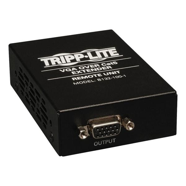 Tripp Lite VGA over Cat5 / Cat6 Extender, Receiver, 1920x1440 at 60Hz