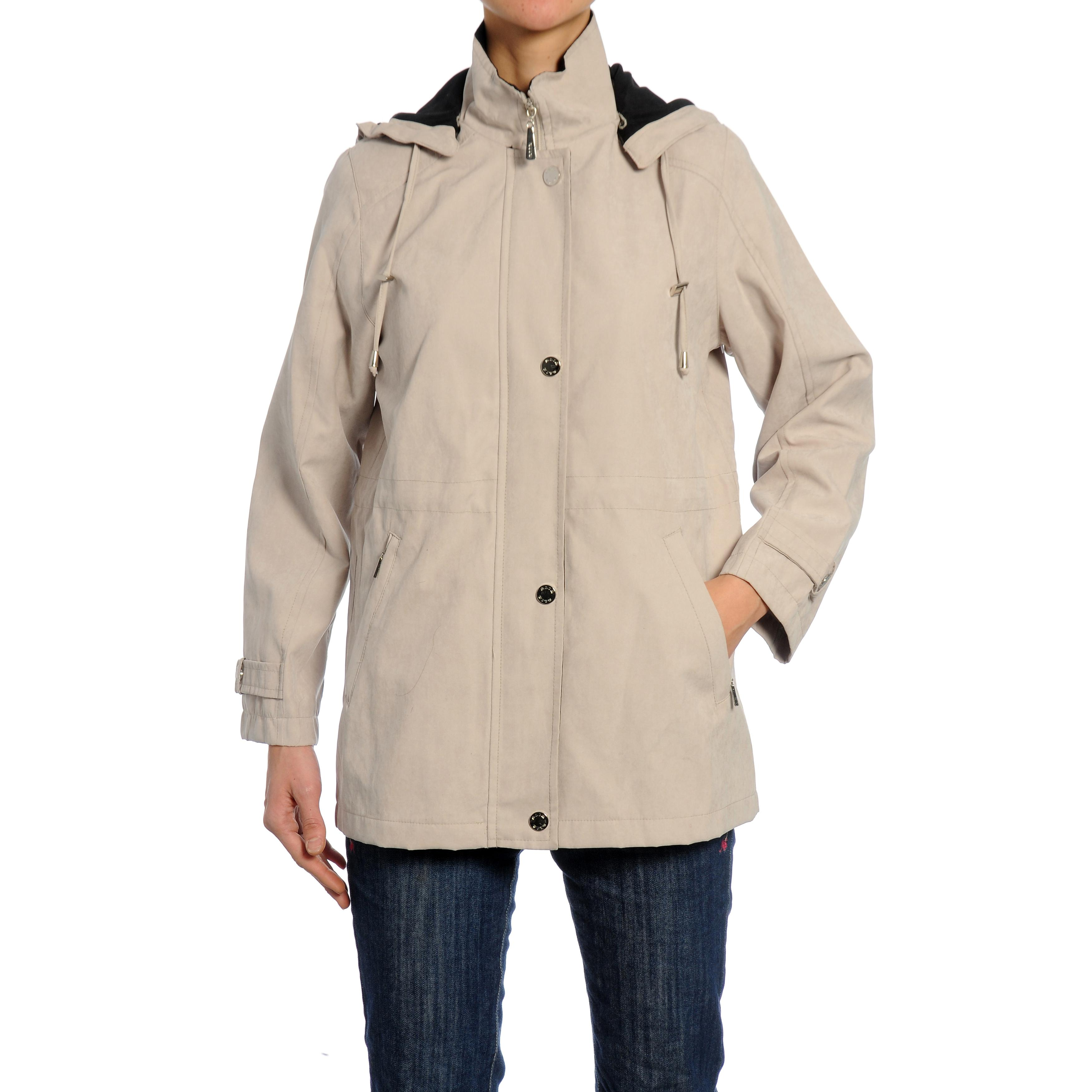 Nuage Women's 'Moss' Fleece-lined Hooded Jacket