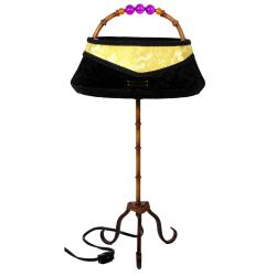 Resin 21-inch Shanghai Clutch Lamp (China)