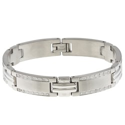 Stainless Steel Young Adult 1ct TDW Diamond Bracelet (G-H, I2-I3)