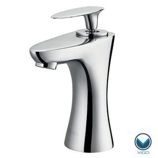 VIGO Ava Single Lever Chrome Finish Faucet