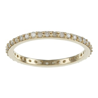 Beverly Hills Charm 14k Gold 1/2ct TDW Diamond Eternity Wedding Band (H-I, I2-I3)