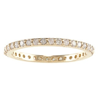 Beverly Hills Charm 10k Yellow Gold 1/2ct TDW Diamond Eternity Band