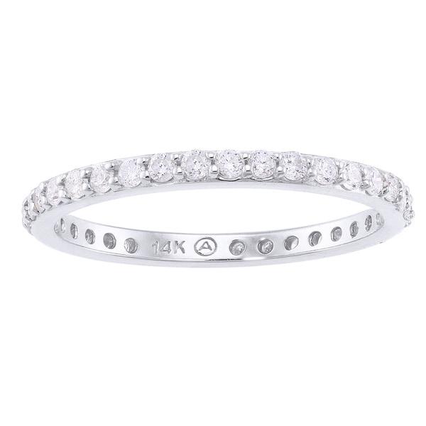 Beverly Hills Charm 14k Gold 1/2ct TDW Diamond Wedding Band (H-I, I2-I3)