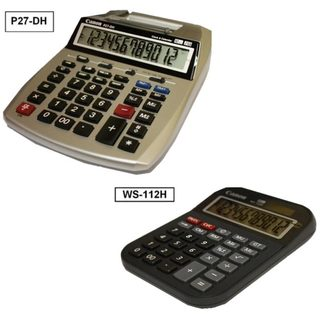 Canon 2-color Mini Desktop Printing Calculator and Desktop Calculator