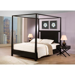 Napa Black 1-drawer Bedside Table