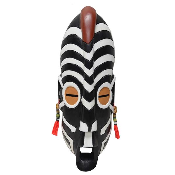 Wood Large Gye Nyame Safari Mask (Ghana)