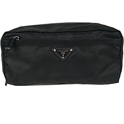 Prada 2N0029 Black Nylon Toiletry Case