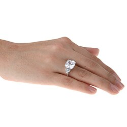 La Preciosa Sterling Silver Cubic Zirconia Ring