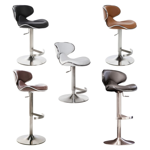 Ecco Adjustable Height Swivel Stool
