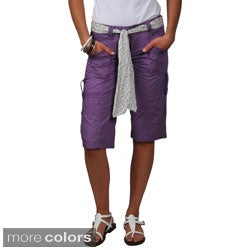 Ci Sono by Journee Junior's Cargo Shorts