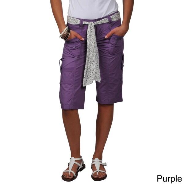Ci Sono by Journee Junior's Cargo Shorts