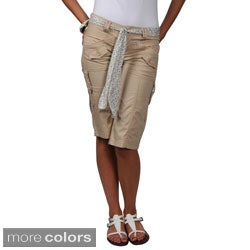 Ci Sono by Journee Juniors Cargo Shorts