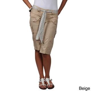 Ci Sono by Journee Juniors Cargo Shorts