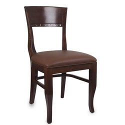 Biedermier Medium Oak Side Chairs (Set of Two)