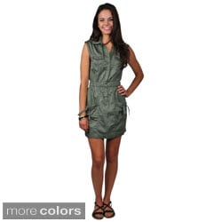Ci Sono by Journee Junior's Sleeveless Buttoned Dress