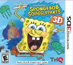 NinDS 3DS - Spongebob Squigglepants - THQ