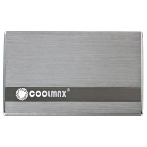 Coolmax HD-250TN-U3 Drive Enclosure - External - Gray