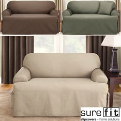 Logan T-cushion Loveseat Slipcover