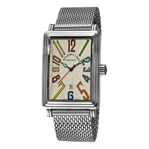 Stuhrling Original Men's 'Uptown Ozzie Genteel' Watch