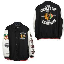 Chicago Blackhawks Stanley Cup Champions Commemorative Varsity Jacket