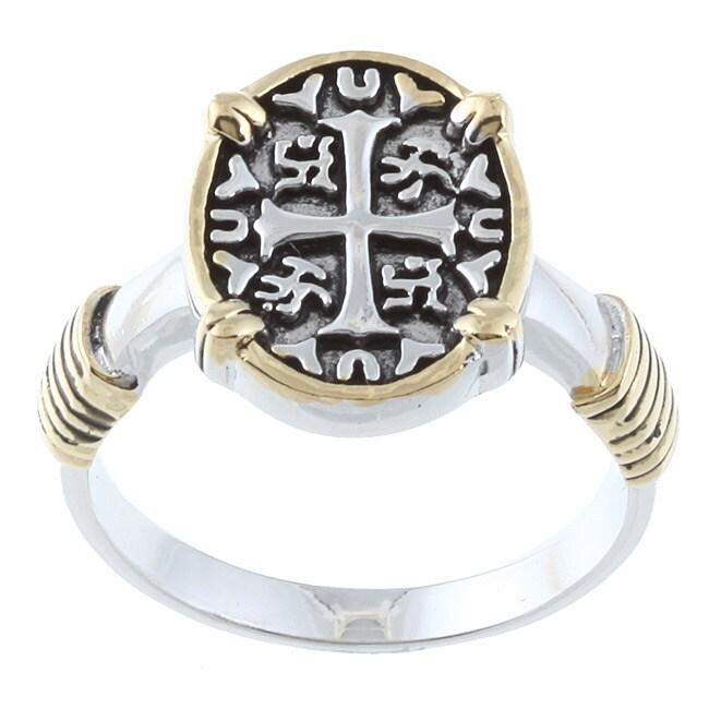 La Preciosa Sterling Silver Cross Ring