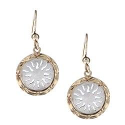La Preciosa Two-tone Sterling Silver Earrings