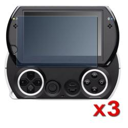 INSTEN Clear Screen Protector for Sony PSP Go (Pack of 3)