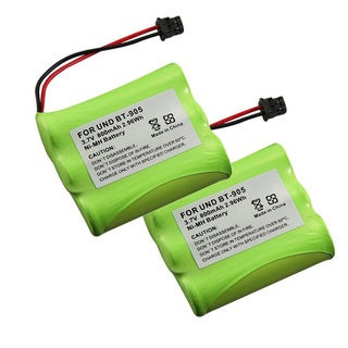 Uniden BT-905 Cordless Phone Compatible Ni-MH Battery (Pack of 2)