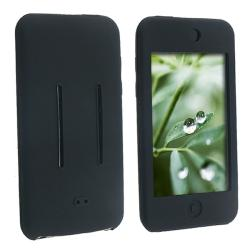 Black Silicone Skin Case for Apple iPod Touch 1st/ 2nd/ 3rd Gen