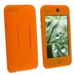 Orange Silicone Skin Case for Apple iPod Touch 1st/ 2nd/ 3rd Gen