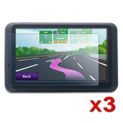 4.3-inch Widescreen LCD Screen Protector for Garmin Nuvi (Pack of 3)