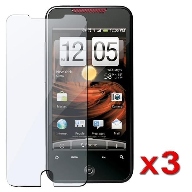 INSTEN Anti-scratch Screen Protector for HTC Droid Incredible (Pack of 3)