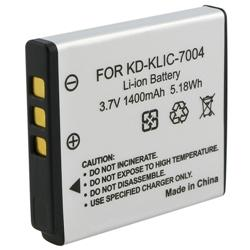 INSTEN Compatible Li-ion Battery for Kodak KLIC-7004/ Fuji NP-50 (Pack of 2)