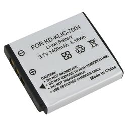 Compatible Li-ion Battery for Kodak KLIC-7004/ Fuji NP-50